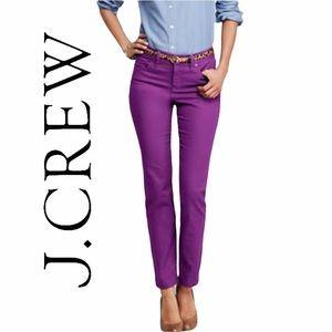 J. Crew-  Stretchy Toothpick Jeans
